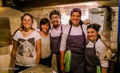 The Ferro e Farinha team on their opening night. Catete, Rio de Janeiro.