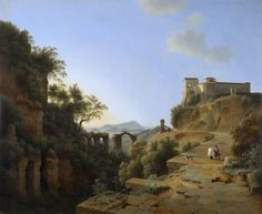 Knip Josephus Augustus - Naples gulf and in the background the island of Ischia, 1818.