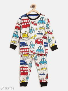 Nightsuits  Fancy Cotton Blend Printed Night Suit Fabric: Top - Cotton Blend , Pant - Cotton Blend Sleeves: Sleeves Are Included Neck: Round Neck Size: Age Group (1 - 2 Years) - 18 in Age Group (2 - 3 Years) - 20 in Age Group (3 - 4 Years) - 22 in Age Group (4 - 5 Years) - 24 in Age Group (5 - 6 Years) - 26 in Age Group (6 - 7 Years) - 28 in Age Group (7 - 8 Years) - 30 in Type: Stitched Description: It Has 1 Piece Of Girl's Top & 1 Piece Of Pant Work: Top - Printed , Pant - Printed Sizes Available: 2-3 Years, 3-4 Years, 4-5 Years, 5-6 Years, 6-7 Years, 7-8 Years, 1-2 Years   Catalog Rating: ★4.3 (916)  Catalog Name: Girl's Fancy Cotton Blend Printed Night Suits Vol 1 CatalogID_438294 C62-SC1158 Code: 592-3187189-