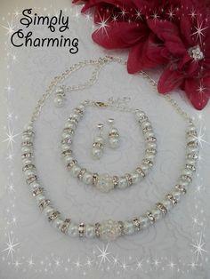 Wedding Jewellery set - The Supermums Craft Fair