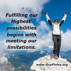 Fulfilling our Highest... guyfinley.org Awesome Quotes, Best Quotes, Self Talk, Word Pictures, Spiritual Inspiration, Spirituality, Wisdom, Guys, Words
