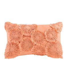 Look at this JLA Home Orange Oblong Throw Pillow on #zulily today!