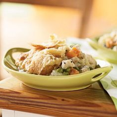 Chicken and Root Vegetable Potpie | MyRecipes.com