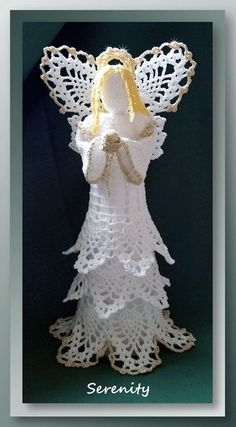 Angel Free Crochet Pattern