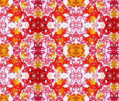 Jello_Stars_Whiter_background fabric by girl_pants on Spoonflower - custom fabric