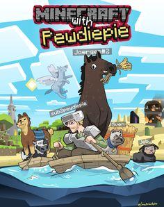 Minecraft with Pewdiepie Minecraft Kunst, Minecraft Drawings, Minecraft Fan Art, Minecraft Memes, Pewdiepie Meme, Pewdiepie Fan Art, Markiplier Fan Art, Youtube Memes, Minecraft Wallpaper