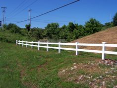 PRIZM VINYL FENCES  Style: 2 Rail Ranch   Color: White