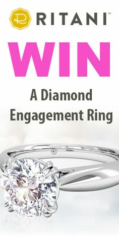 Win a Diamond Engagement Ring. It's Gorgeous!!!!! Womanfreebies.com is the place to enter!!!!!!!  ONLY 1 entry per person!  ENTER NOW!  I ABSOLUTELY LOVE IT!