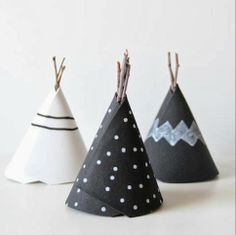 of paper and things: paper fix | paper teepees