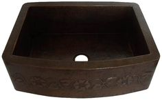 Shop our under counter and drop-in single and double bowl #copper #kitchen #sinks hand #hammered in pure #solid copper. The #sink #design allows for easy cleaning of #kitchenware including large pans and pots. Each copper sink for #kitchen is #handmade and treated with a rich copper patina finish, it is durable and easy to maintain.