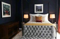 Schlafzimmer Grau   88 Schlafzimmer Mit Deutlicher Präsenz Von Grau |  Hängelampen, Grau Und Schlafzimmer