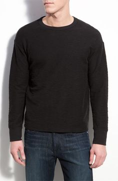 $110 NSF Clothing 'Oliver' Slub Knit Crewneck Sweatshirt | Nordstrom