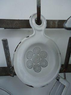antique enamelware...