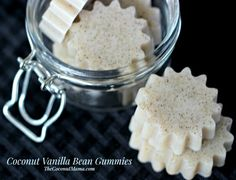 Coconut and Vanilla Bean Gummies