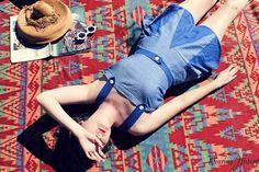 E-Pattern- Bathing Beauty- 1940s Swimsuit Swim Suit Bathing- PDF Sewing Pattern- Wearing History