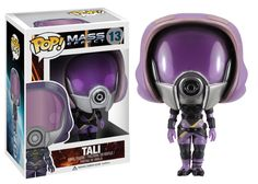 From the Mass Effect video game series from BioWare, Tali'Zorah nar Rayya has been given the Pop! Vinyl treatment with this Mass Effect Tali Pop! Tali stands 3 tall, and makes a great gift for children and adult collectors alike. Tali Mass Effect, Mass Effect Video Game, Game Effect, Funko Figures, Pop Figures, Vinyl Figures, Action Figures, Mass Effect Characters, Mass Effect Universe