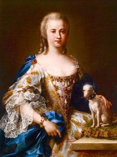 Sebastiano Ceccarini (1703–1783), Portrait of a Lady with a Lapdog