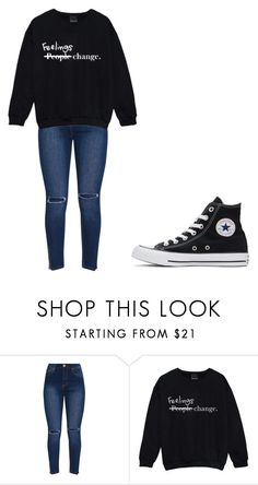 """Untitled #333"" by thenerdyfairy on Polyvore featuring Converse"