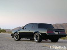 '87 Buick Grand National GNX