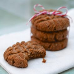 Chewy Almond Spice Cookies (Gluten-Free and Vegan!)