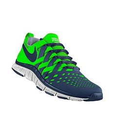 I designed this at NIKEiD - Seahawks shoes!