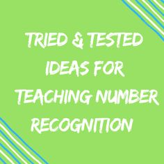 Amazing activities for Teaching Number Recognition for kindergarten or preschool kids. Free, Tried & Tested number recognition activities that work! Teaching Numbers, Teaching Math, Maths, Hands On Activities, Math Activities, Educational Activities, Math Rotations, Numeracy, Mental Math Strategies