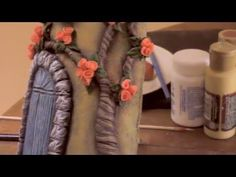 Teja Decorada - Paso 6: Últimos Acabados - YouTube