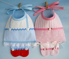 Patrón de costura bebé babero - bailarina y Dorothy - ePattern PDF