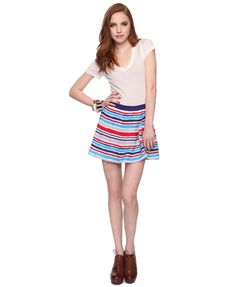 stripes and pleats