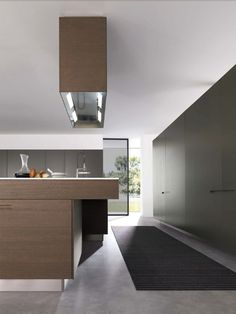 Fitted #kitchen with integrated handles ASSIM by @Gruppo Euromobil  #interiors