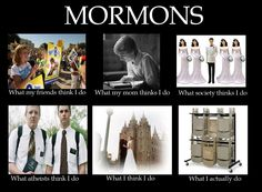 Wow.... Mormons. Kinda funny even though I definitely don't agree with their, uhhh, thought process.