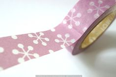 Lavender PINK Cherry Blossom Snowflake Decorations by PrettyTape, $4.00