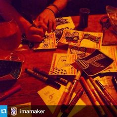 @imamakerDrink and draw…Darknessss
