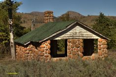 An Abandoned Cabin In The Wichita Mountains Wildlife Refuge In SW Oklahoma