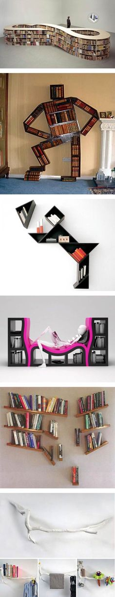 Creative and Unusual Bookshelves