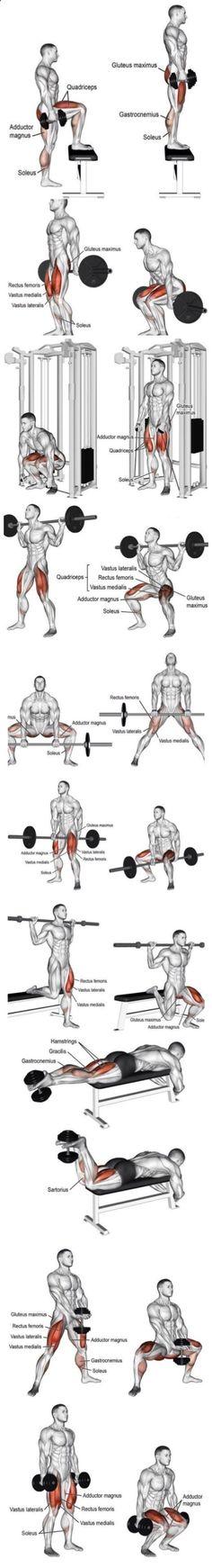 Ejercicio de pierna #fitness