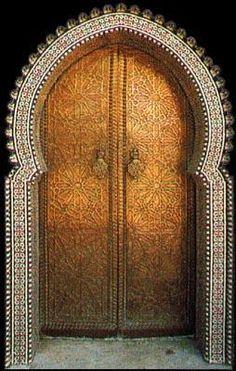 Sweet Looking Islamic Door