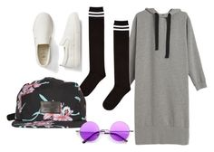 """""""21"""" by hermanrizek on Polyvore featuring Gap, Topshop and Vans"""