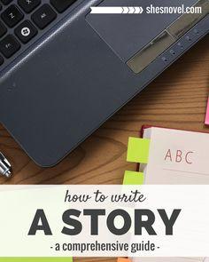 How to Write a Story | A blog series via ShesNovel