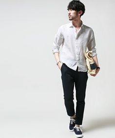Men's Fashion – How to Nail Office wear Japan Fashion, Suit Fashion, Mens Fashion, Smart Casual Men, Fashion Couple, Men Looks, Cool Outfits, Menswear, How To Wear