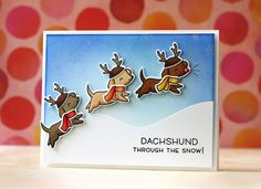 2016 Lawn Fawn SET LF1289 HAPPY HOWLIDAYS Clear Stamps and Dies STAMPtember Exclusive $33.99
