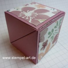 Origami for Everyone – From Beginner to Advanced – DIY Fan Envelope Punch Board Projects, Card In A Box, Tarjetas Diy, Origami Envelope, Diy Fan, Flip Cards, Diy Presents, Origami Art, Easy Origami