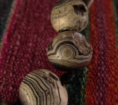 Ancient Suleimani/Bhasajyguru Banded Agate Beads Sourced from the Swat Valley, Pakistan Agate Beads, Himalayan, Carnelian, Stone Beads, Swat, Pakistan, Antiques, Minerals, Antiquities