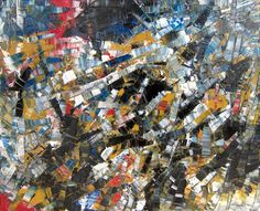 Abstract Composition by Jean Paul Riopelle. Follow the biggest painting board on Pinterest: www.pinterest.com/atelierbeauvoir