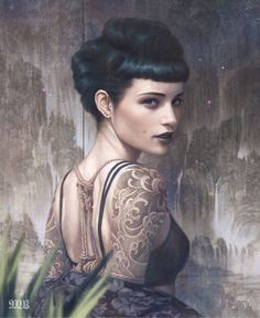 Supersonic Art: Tom Bagshaw, Paintings. Truly stunning and always...