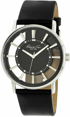 Kenneth Cole New York See Thru Black Dial Men's watch #KC1793 Kenneth Cole. $69.93. Transparency Collection. 43mm Case Diameter. Quartz Movement. 30 Meters / 100 Feet / 3 ATM Water Resistant. Mineral Crystal. Save 39%!