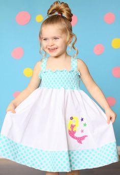 Custom Boutique girls Mermaid dress size 18 by Weblingitonboutique, $37.00