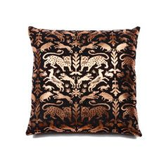 Copper Forest Pillow