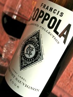 Coppola Diamond Collection Cabernet Sauvignon Ivory Label....foolproof wine!  Simply excellent