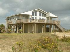 Stunning 'Beachfront' Home with Panoramic Views!!Vacation Rental in Galveston from @HomeAway! #vacation #rental #travel #homeaway